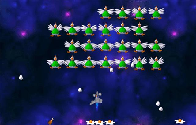 Bắn gà Chicken Invaders: Revenge Of The Yolk