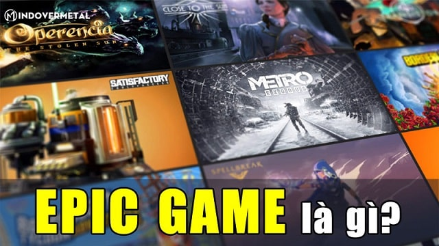 epic games trò chơi điện tử