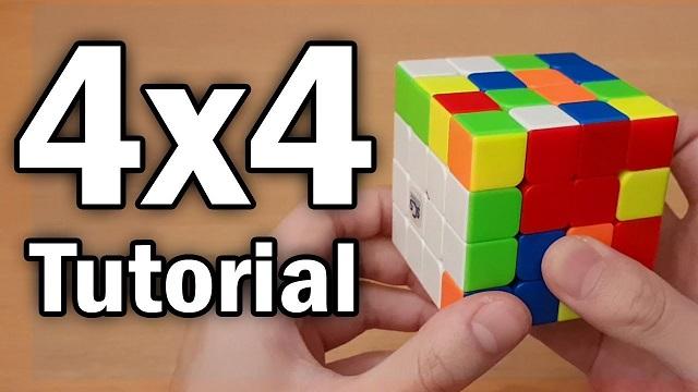 hướng dẫn xoay rubik 4x4x4 nhập môn
