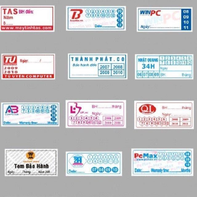Khái niệm về tem bảo hành